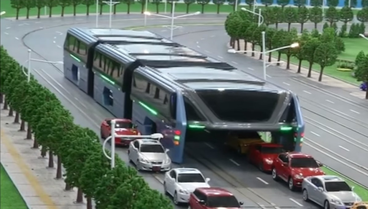 China's hover bus invention